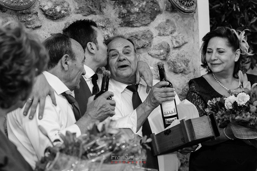 boda en la Posta Real