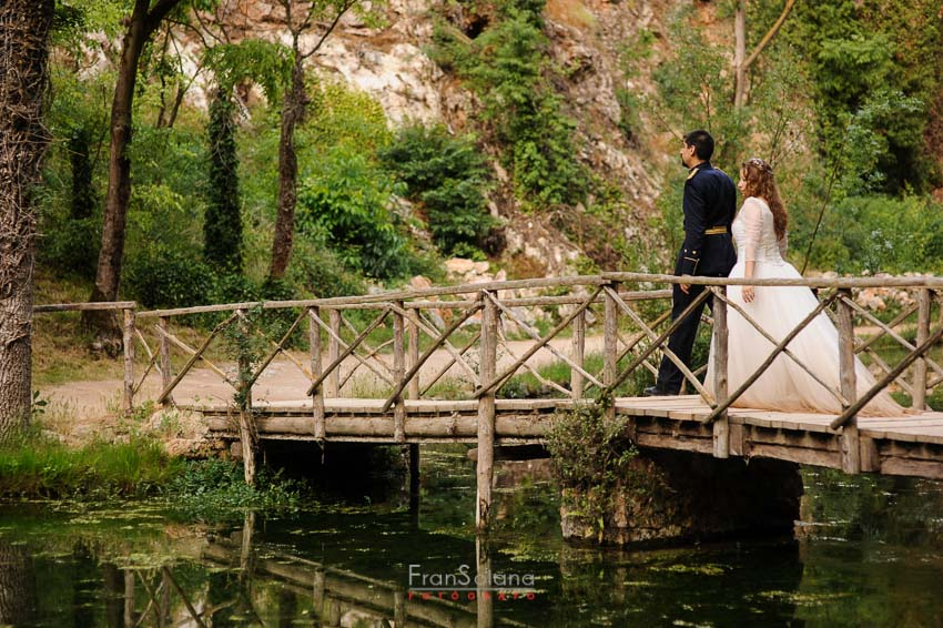 trash the dress en el monasterio de piedra