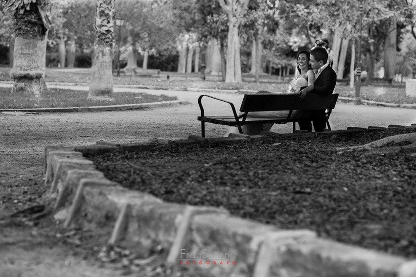 postboda en jardines del Real de Valencia