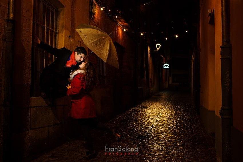 Sesión preboda romántica