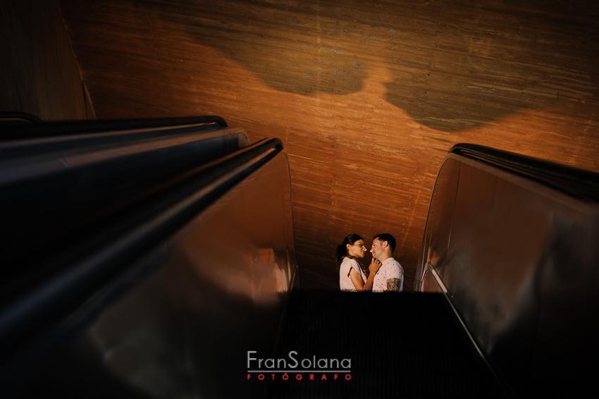 Escaleras mecánicas de Zocodover y Paseo del Miradero