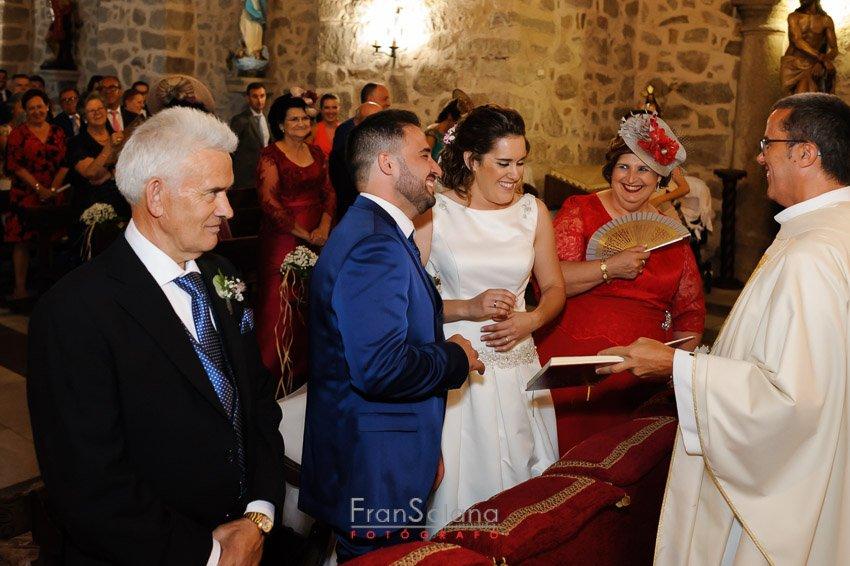 Ceremonia en Iglesia de la Conversión de San Pablo