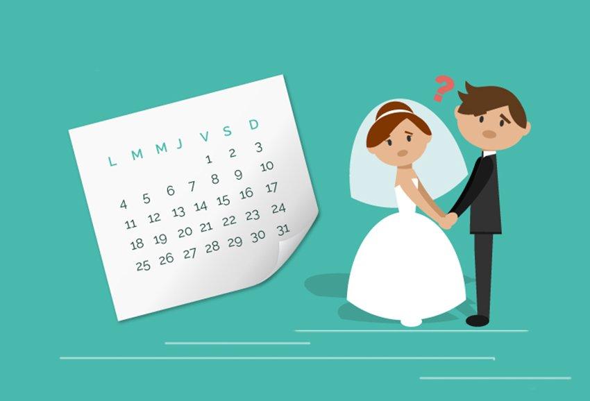 Trámites para casarse por lo Civil en España