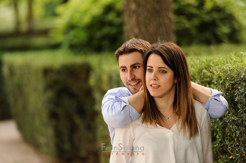 Prebodas en Aranjuez, Jardín del Principe