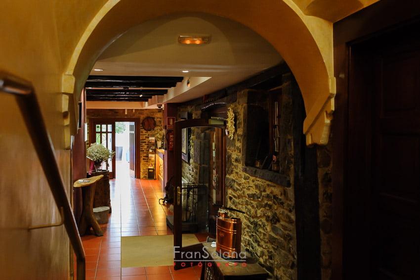 Instalaciones para bodas del Hotel Restaurante Arcos de Quejana